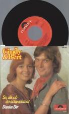 """7""""    Cindy & Bert – So, Als Ob Du Schwebtest   / AUSTRO"""