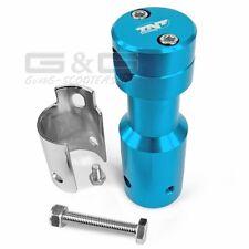 Adaptateur coloris bleu pour Peugeot Speedfight guidon Downhill