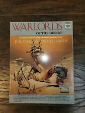 MERP Warlords of the Desert #8012 MINT Middle-Earth Role Playing