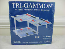 Tri-Backgammon~The Three Dimensional Game of Backgammon By Tara Toy Corp.~New