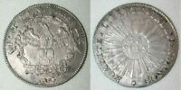 Beautiful 1794 Silver Coin 15 Sols Canton of Geneva Revolutionary Coinage XF+