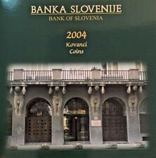 Slovenia 2004 Set 10 Proof Coins 250th Anniversary Birth of Jurij Vega Rare