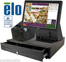 ALDELO 2013 PRO ELO CHINESE RESTAURANT BAR ALL-IN-ONE COMPLETE POS SYSTEM NEW