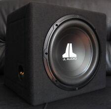 JL AUDIO 12W0v3 SUBWOOFER SEALED BOX MDF WITH LOGO + JL GRILE SGRU-12, 300W, NEW