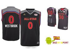 CAMISETA ALL STAR 2017 CONFERENCIA OESTE CURRY HARDEN LEONARD ... - TODAS TALLAS