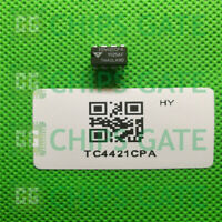 4PCS TELCOM DIP-8,9A High-Speed MOSFET Drivers, TC4421CPA