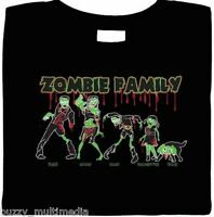 Zombie Family Shirt, Bloody Zombies, Zombie family and Zombie Dog Shirt