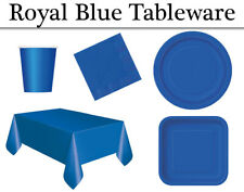 Royal Blue Co-Ordinating Party Tableware