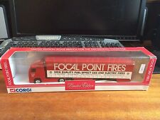 Corgi 1/64 Scale TY86704 Volvo Curtainsider - Focal Point Fires