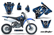 AMR Racing Graphics Decal Kit Suzuki RM 85 Sticker Wrap 2002-2012 NORTHSTAR BLUE
