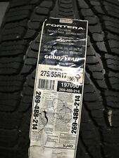 1 New 275 55 17 Goodyear Fortera Triple Tred Tire