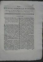 1790 NUOVO GIORNALE D'ITALIA: ALLEVAMENTO BOVINO IN DALMAZIA BUOI IN VENETO