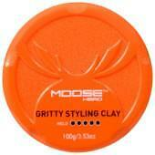 Moosehead Gritty Styling Clay, chunky separation with Matte finish.100g, new