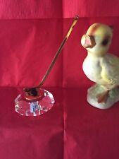 Ice hockey figurine, vintage, with swarovski®� cut crystal