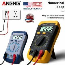 Lcd Digital Multimeter Voltmeter Acdc Ohmmeter Ammeter Capacitance Tester