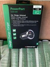 Monster Mobile Power Plug Usb 600 Car Charger - New Lot 18
