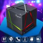 LED CASSA PORTATILE BLUETOOTH MP3 LETTORE SPEAKER ALTOPARLANTE PER SMARTPHONE PC