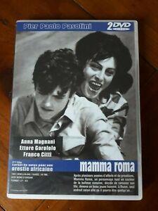 PASOLINI / MAMMA ROMA / ORESTIE AFRICAINE / 2 DVD / Cinéma italien