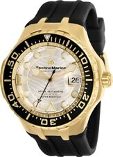 Technomarine TM-118089 2019 Grand Cruise Blue Reef Gold & Silver Dial AUTOMATIC!