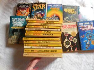 Lot of 21 Vintage Sci-Fi Novels - includes 14 Daw Publications,  Vogt,........