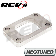 Rev9 T3 Turbo Flange Mild Steel None Threaded With Anti Corrosion Plated Finish