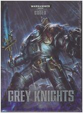 GW Warhammer 40K Codex Grey Knights (7th Edition) Hard Cover Shrink Wrapped!