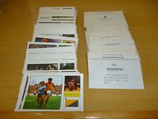 FKS SOCCER STARS 1973/74 individual stickers lots available....2 for £1