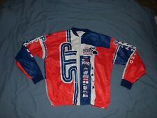 Vtg 2002 Stp Tyvek jacket cycling race finisher Seattle Portland bicycle red whi