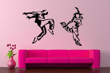 Wall Art Vinyl Room Sticker Decal Mural Dance Art Hip Hop Music Couple bo2189