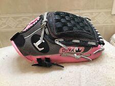 Louisville DIVA DV-1100 Youth Girls Softball Baseball T-ball Glove Right Throw