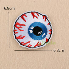 Big Eye Embroidered Sew Iron On Patch Badge Fabric Clothes Applique Transfer DIY