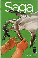 SAGA #2 - 1st appearance of Stalk - 2nd Print - NM
