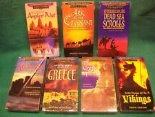 ANCIENT MYSTERIES 7 VHS TAPES ,VIKINGS ,SPHINX ,GREECE ,CAMELOT , & MORE