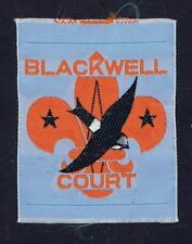 Silk Woven Blackwell Court District Traded For At World Jamboree 600827