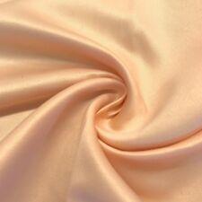 """Matte Satin (Peau de Soie) Duchess Fabric Bridesmaid Dress 60"""" BTY Many Colors"""