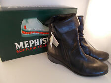 Mephisto Seddy Black Texas Handmade Soft-Air Women's Boots Size 10 US New In Box