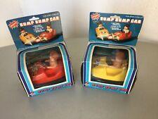 VINTAGE 70s# DATSUN BATTERY OPERATED 2x BUMP BUMP CARS BUMPER  CARS#NIB BOXED