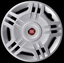"Fiat Panda 2006 Kit 4 Copricerchi coppa ruota 14"" logo rosso cod 1213LR"