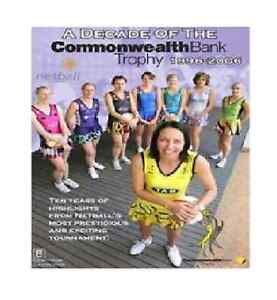 Netball Australia - A Decade Of The Commonwealth Bank Trophy dvd brand new!!