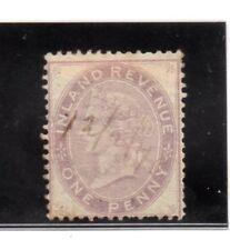 Gran Bretaña valor fiscal postal año 1871 (BE-886)