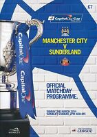 CAPITAL ONE CUP FINAL 2014 Manchester City v Sunderland