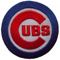 New MLB Chicago Cubs Logo embroidered iron on patch. 2.8 inch (i24)