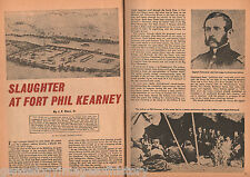 Slaughter At Fort Phil Kearney On The Little Piney