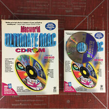 Vintage Computer Software Mac World Ultimate Mac Macintosh Apple CD ROM Disc