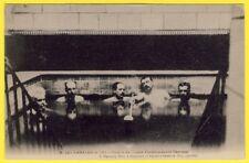 cpa 34 - LAMALOU les BAINS (Hérault) PISCINE Etablissement THERMAL Animée
