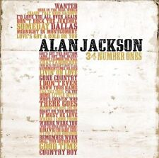 34 Number Ones by Alan Jackson (CD, Nov-2010, 2 Discs, Arista)