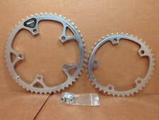 New-Old-Stock Shimano 600EX Biopace Chainrings...53x42 w/130mm BCD (Silver)