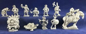 11 Heritage Metal Miniatures D&D 1976-81 Monsters some paint Dungeon Dwellers