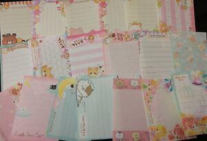 Kawaii grab bag - 40 Loose Mini Memo Sheets Stationery Lot