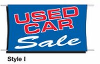 AUTO DEALER 3x5ft Heavy Duty Outdoor Material Fluorescent Print Banner Flags